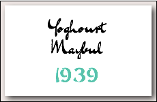 5 yoghourt maybul 1939