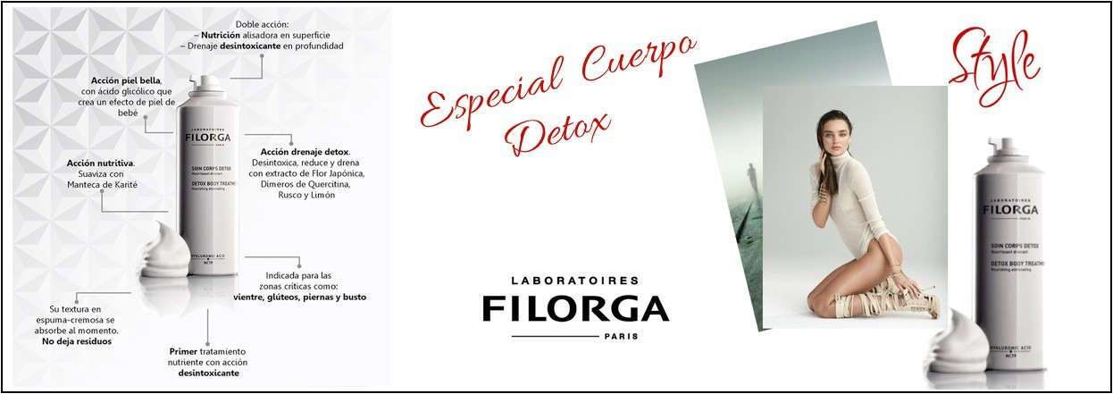 "¿Conoces alguna ""Crema Gym""? Detox Body Treatment de Filorga"